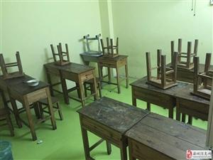 实木学生课桌椅