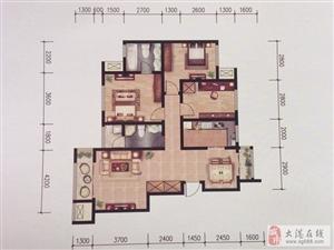 滨海新区楼间距大采光好三室通厅70大产权单价低