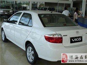 家用九成新白色丰田威驰出售