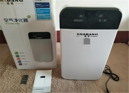 沙邦空气净化器 SH-1除甲醛 可遥控