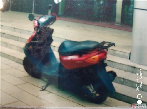 买汽车了,出售闲置雅马哈踏板摩托车一台