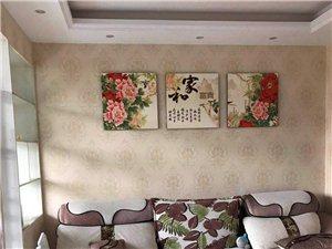 出售富洲花园4楼精装修3室2厅家具电器全齐价格35万