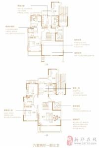 6室2厅1厨3卫