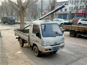 蠡县城内出售12年柴油单排一辆,审车保险到10月份