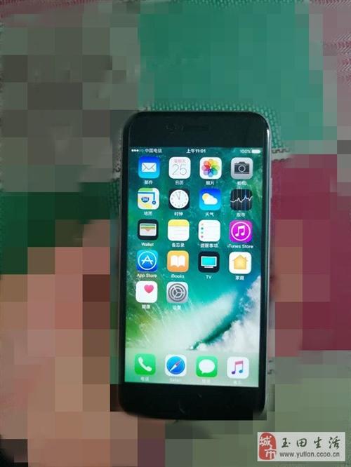 出售蘋果手機128G三網,有意者聯系!
