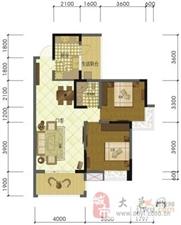 林肯郡2室2厅1卫56.8万元