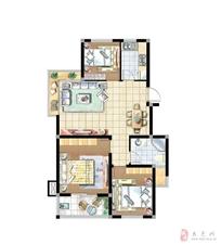 优品美地3室2厅2卫79.8万元