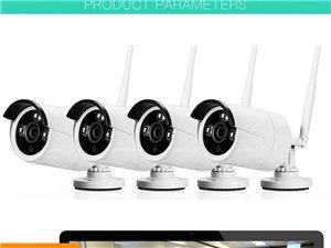 固安安防監控安裝監控攝像頭安裝無線WIFI自連監控