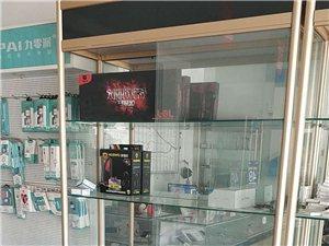 以前电脑店里的玻璃柜子很漂亮便宜处理有三个