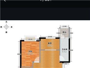 黄金地段(海桂坊)84平2室2厅110万元