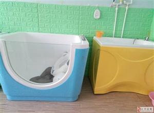 诗安国际产后恢复中心,现出售宝宝游泳池2组