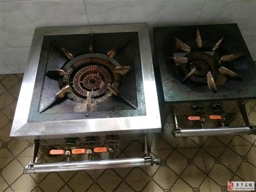 出售猛火天然氣灶2個