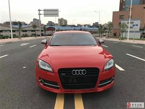 12款奥迪TT红色黄江水车