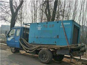 出售二手空压机打井机器一套