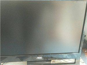 电脑显示器19寸AOC显示器150元