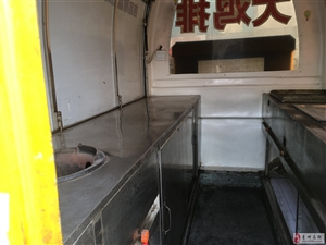 二手小吃车,餐车,电动三轮餐车,大篷车