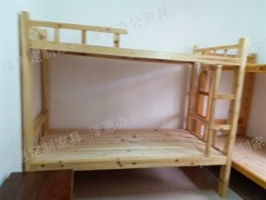 出售实木上下床铺出租房实木子母床员工宿舍上下床