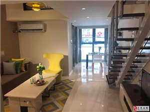 汤城汇酒店式精装挑高公寓S6轻轨直达