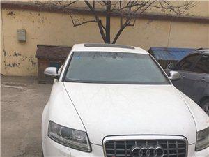 奥迪A6豪华版白色个人一手车