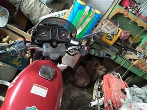 卖8成新摩托车