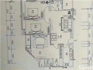 万泉雅苑2室2厅1卫100万元