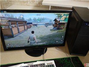 吃鸡游戏主机I5处理器8G内存27寸显示器