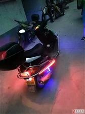 出售一辆豪爵悦星2带摩托车