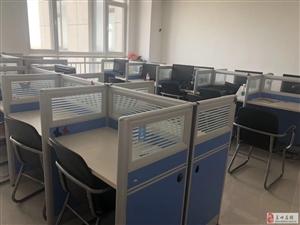 低价出售一批二手办公桌椅和全新电脑主机