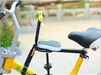 山地车自行车儿童座椅前置单车宝宝座椅便携快拆不用