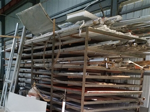 不锈钢板木板铁皮平板货架