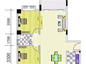 万泉丽景2室2厅1卫119万元