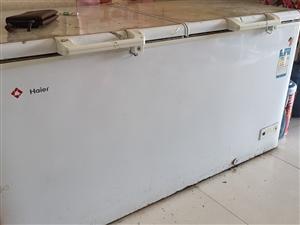 海尔500升双门冰柜1200元处理