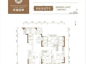 幸福森林3室2厅2卫109万元首付30%精装交房