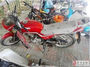 钱江125摩托车便宜处理了