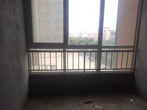 华予金城4室2厅2厅毛坯电梯房子,支持分期