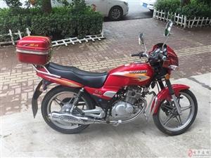 出售八、九成新钻豹125摩托车