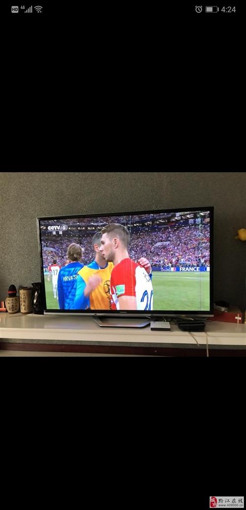出售长虹8成新电视一台,65英寸