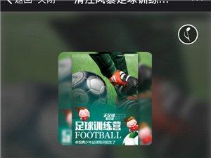 长阳清江风暴足球训练营马上就要开班啦!