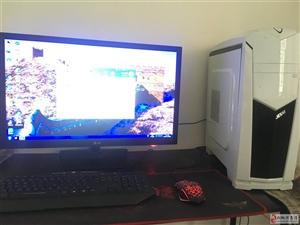 出售台式电脑不卡无维修?#35805;?#32593;游游戏不再话下