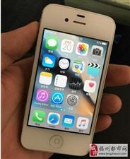 白色 九成新苹果4S国行8G几乎是全新