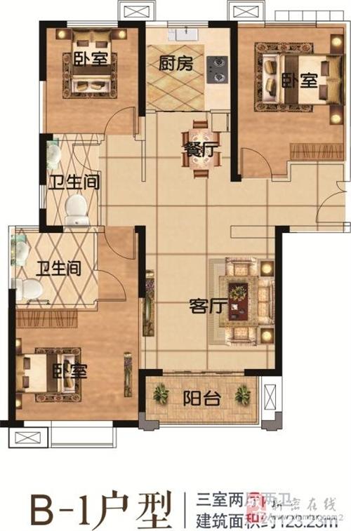 龙8国际正升阳光城三期户型图