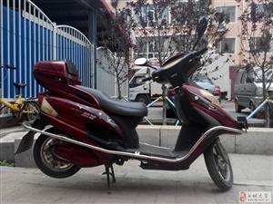 48V红色踏板电动自行车对外出售