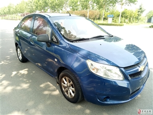 蓝色赛欧出售私家车