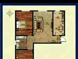 蓝波圣景2室2厅2卫74万元