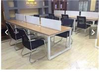 低价转两个三米办公桌,可放12个电脑 椅子12