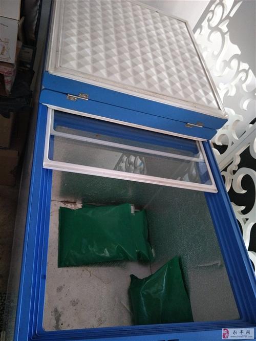 9成新美菱卧式冰柜