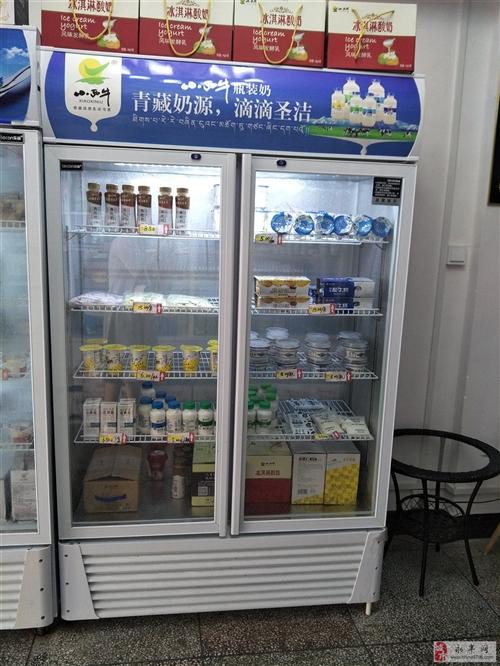 9.5成新乐创展示冰柜