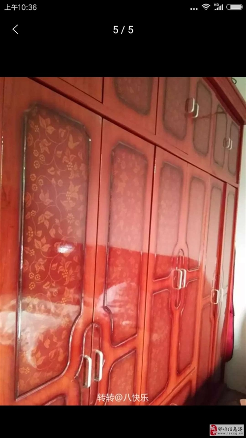 便宜出售实木衣柜,买到就赚到,只有一个