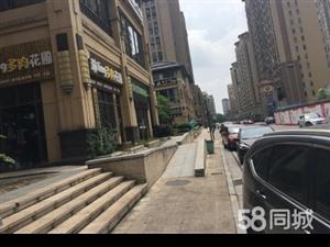绿地中央花园步行街商业广场,临街一线和商铺,带租