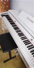 白色钢琴因搬家出售